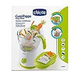 Chicco Easy Meal - Robot de cocina que ralla, cocina al...