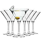 Krosno Copas Martini Cóctel | Conjunto 6 Piezas | 150...
