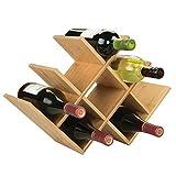 mDesign Estante para Botellas de Vino – Botelleros de...