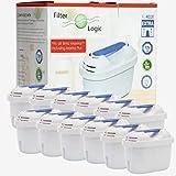 FilterLogic FL402E | Paquete de 12 - Cartucho filtrante...