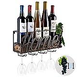 Tinyuet Porta Botella de Vino | Botellero | Caja de...
