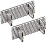 Margueras - 20 tiradores de barra para puertas de...