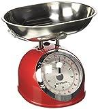 G3 Ferrari Aska Mechanical kitchen scale Rojo, Acero...