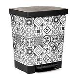 TATAY Cubik Hydraulic Cubo de Basura para la Cocina con...