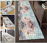 WGFGXQ Runner Rug Hallway Runner Rug Kitchen Geometric...