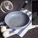 Mioke - Sartén antiadherente de piedra, de inducción, de alta calidad, profesional, diámetro 20 cm