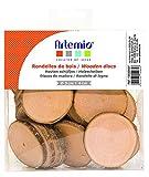 Artemio - Discos de Madera (180 g, 40 Unidades), Color...
