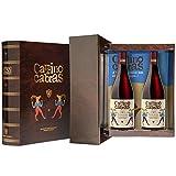 CAMINO DE CABRAS Estuche regalo – Producto Gourmet – Vino tinto – Mencía D.O. Valdeorras - Vino bueno para regalo - Caja de vino - Vino Premium - 2 botellas x 75cl
