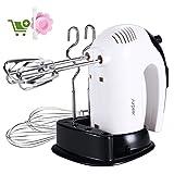 Batidora Varillas Electrica,SURPEER 300W Hand Mixer con...