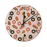 Free Brand Donuts Muffins Sugar Tasty Yummy Clocks...