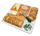NERTHUS FIH 336 - Plato de snacks de porcelana, para...
