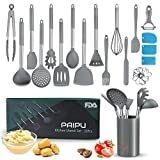 Utensilios de Cocina Silicona PAIPU, 32 Piezas...