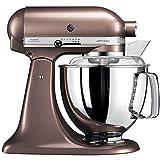 KitchenAid Artisan - Robot de cocina (Marrón, Acero...