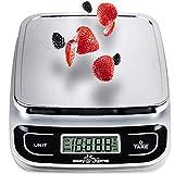 Easy@Home Báscula de Cocina Digital 5 kg o 11 lbs -...