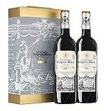 Marqués de Riscal - Vino Tinto Reserva D.O. Rioja - Estuche 2 Botellas x 750 ml