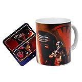 Juego de taza y posavasos de Kylo Ren de Star Wars ,...