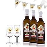 Manzanilla La Gitana - Pack 3 Botellas 37,5 Cl. + 2...