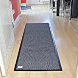 (Grey, 80x120cm) - Non Slip Barrier Mat Large & Small...