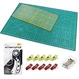 Alfombrilla de Corte A3 +Cúter Rotativo + Cuchilla de...