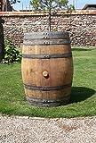 Barrica de vino auténtica de roble para decoración de...
