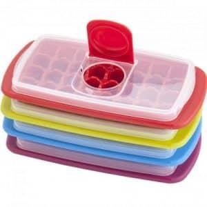 cubiteras de hielo con tapa