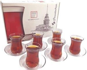 vasos de te turcos