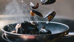 como cocinar con sarten de acero inoxidable