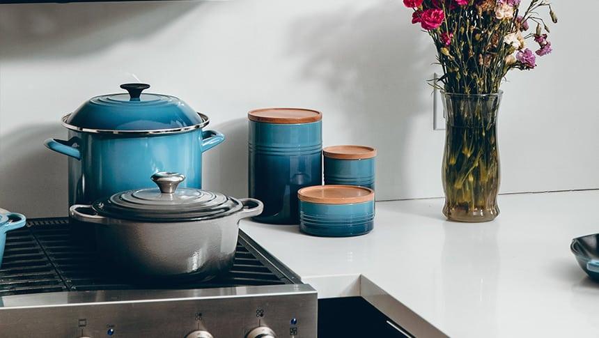 como sazonar los utensilios de cocina de hierro fundido