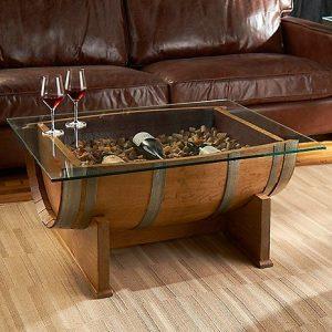 mesa barrica