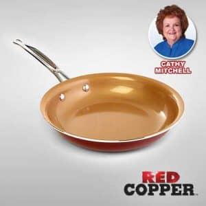 sarten red cooper