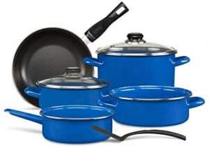 Batería De Cocina Azul